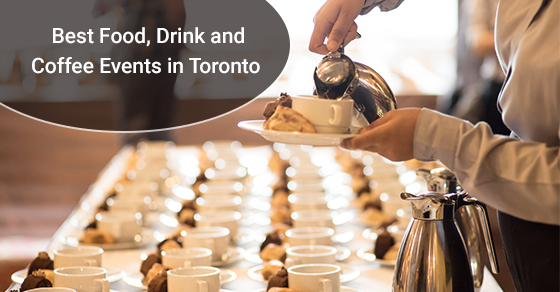 Coffee event party in toronto