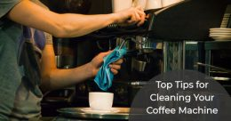 Tips for cleaning coffee machine